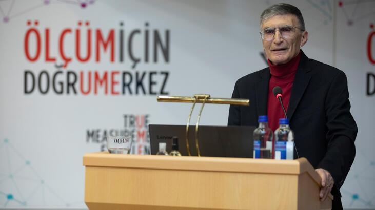 Nobel ödüllü Türk bilim insanı Aziz Sancar, geleceğin parlak beyinleriyle buluştu: