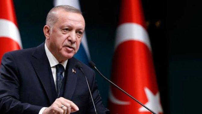 """Cumhurbaşkanı Erdoğan, """"Küresel Kovid-19 Zirvesi""""ne video mesaj gönderdi:"""