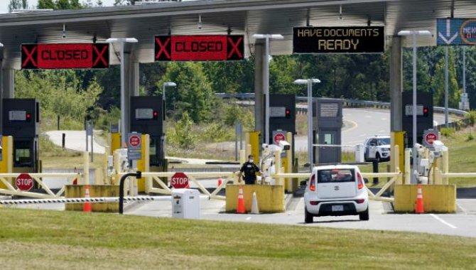ABD'nin Kanada ve Meksika kara sınırları kasımda aşılı yolculara açılacak