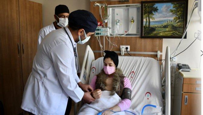 Nevşehir'de hastanın delik kalbine kendi kalp zarından yama yapıldı