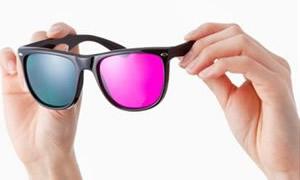 Gözlükten mikrop kapmayın, 3 boyutlu izlenme
