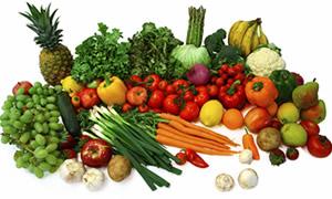 Sofranızdan sebze ve meyveyi eksik etmeyin