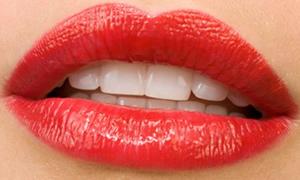 Çatlak patlak değil kıpkırmızı dudak!