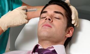 İşyerinde kaş çatmak istemeyen erkeklere botoks