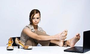 Topuklu ayakkabıya dikkat!