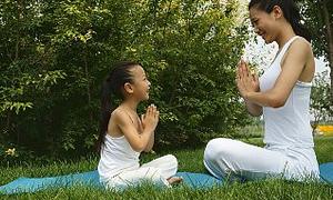 Çocuklar yogayla stres atsın