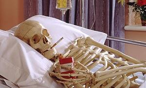 Sigara içen hastaları sayesinde hekimler 'gül gibi' geçiniyor