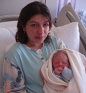 Özel Jimer Hastanesi'nde 08.08.08'in ilk bebeği