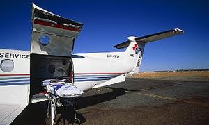 Ambulans uçaklar hangar hapsinde ...