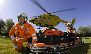 Helikopter ambulansla 6 bin hasta taşındı