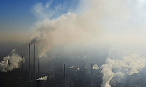 Çin çevre kirliliğine bağlı ölümlerde ilk sırada