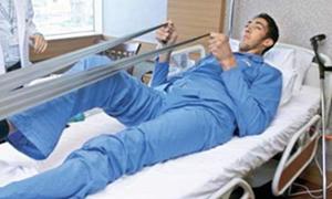 Dünyanın en uzun adamına en uzun hasta yatağı!