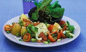 Salatanızı buğday ya da kuru yemişle tatlandırın