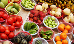 Sağlık için sebze-meyve