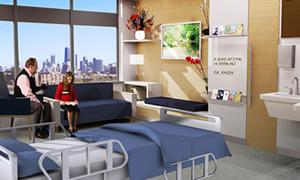 Yeni hastanelere otel konsepti