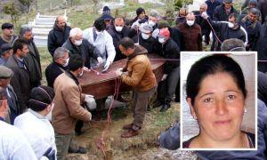 KKKA'dan ölen kadın için özel mezar