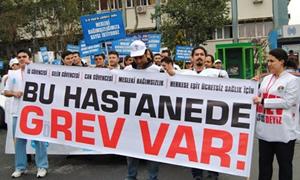 Yarın tüm Türkiye'de hastaneler eylemde