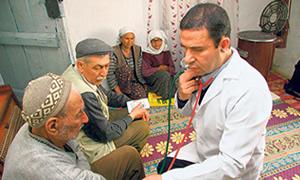 Günde 20 bin köylünün ilacı ayağına gidiyor