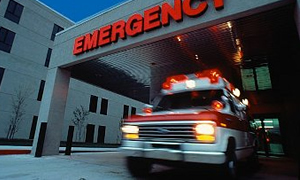 Bir ambulansta 12 hasta 12 yolcu