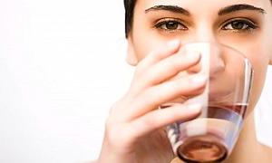 En iyi öksürük şurubu bir yudum su