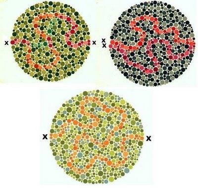 Erkeklerin yüzde 8'i, kadınların yüzde 1'i renk körü