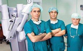 Beş dalda robotik cerrahi kullanan devlet hastanesi