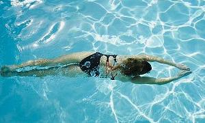 Suyun içinde yapılacak 10 egzersiz