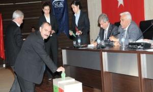 SGK'da kamu görevlileri adına yönetim kurulu üyesi seçildi