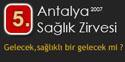 5. Antalya Sağlık Zirvesi Yapıldı