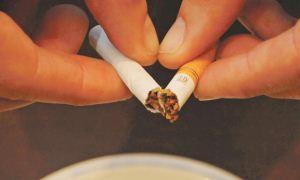 Sigarayı, ara vermeden bir kerede bırakın