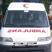 9 dakikada ambulans