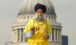 100 yaşındaki maratoncu günde 16 kilometre koşuyor
