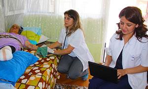 105 bin hastaya evde sağlık hizmeti