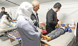 Sahra Hastanesinde 10 bin hasta, 40 bebek