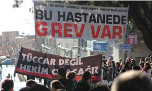 Sağlık çalışanları 17 Nisan'da tüm Türkiye'de greve gidecek.
