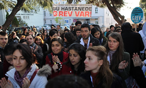 Ş.Urfa'dan Edirne'ye sağlıkçılar isyanda