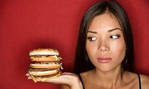 """Fast food hemoroid yapıyor"""
