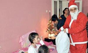 Noel Baba sürprizi yapan doktora soruşturma yok
