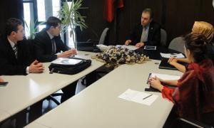 Tıbbi Sekreterler AK Parti milletvekili Prof. Dr. Vural Kavuncu ile görüştü