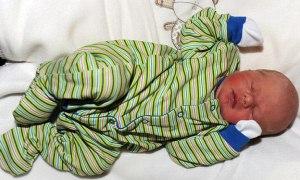 Bu bebek -4 derecede dünyaya geldi!