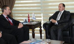 Dünya Bankası Türkiye Direktörü Fatih Acar'ı ziyaret etti