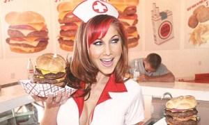 6.000 kalorilik burgere kalp dayanmıyor!