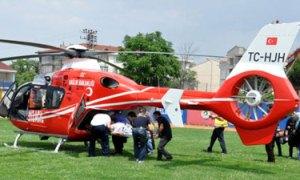 Gece görüş özellikli ambulans helikopterler geliyor