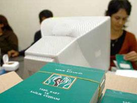 5 milyon 980 bin yeşil kartı iptal edildi