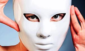 Fabrikasyon botoksun sonu maske yüz