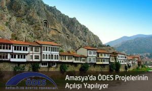 Amasya'da Özürlü Destek Programı (ÖDES) projelerinin açılışı yapılıyor
