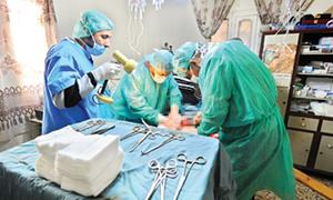 Suriye'nin sağlık sistemi çökme noktasına geldi