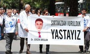 Dr. Ersin arslan'ın ölüm yıldönümünde g(ö)revdeyiz