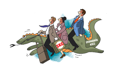 Kriz SGK'ya uğramadı mı?