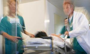 Hastalara sis bombası atıldı